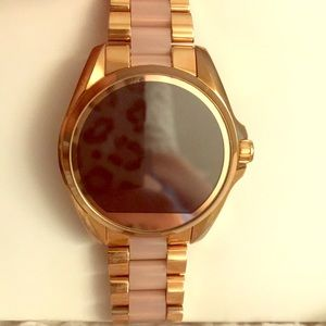 Michael Kors Access Bradshaw Smart Watch Rose GLD